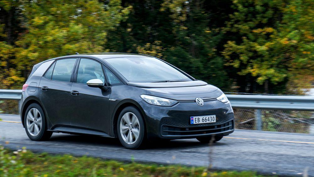 Nå er Volkswagens ID.3 den mest solgte bilmodellen i Sverige.