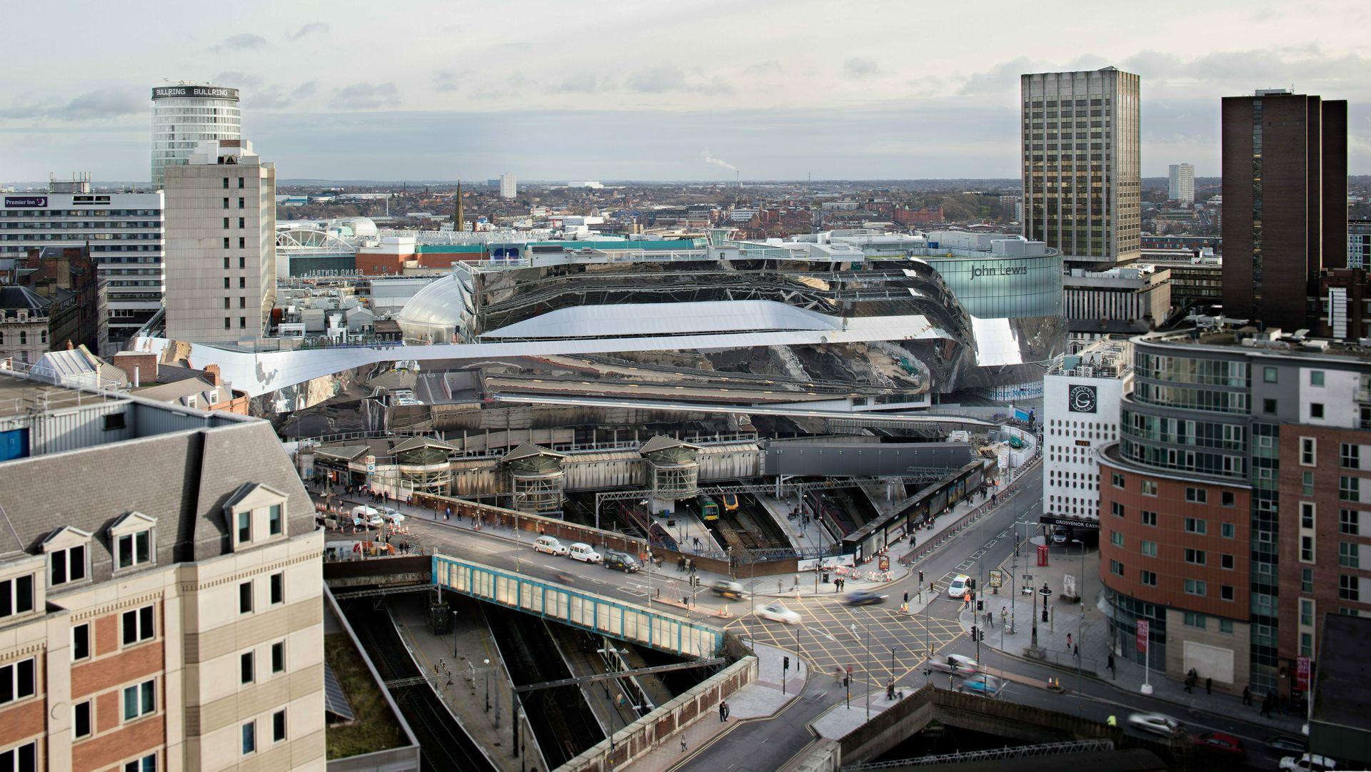 New Street Station i Birmingham