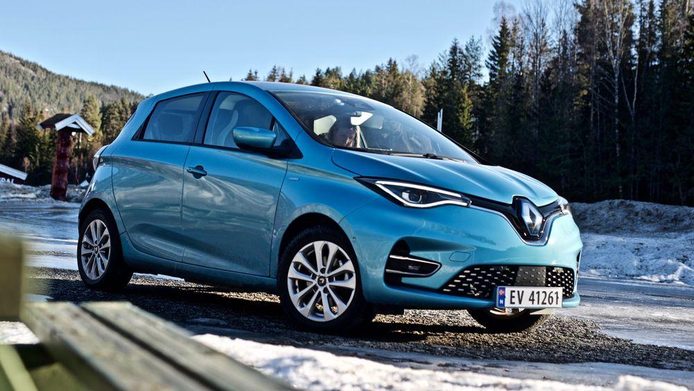 Renault Zoe er en svært populær elbil i Europa.