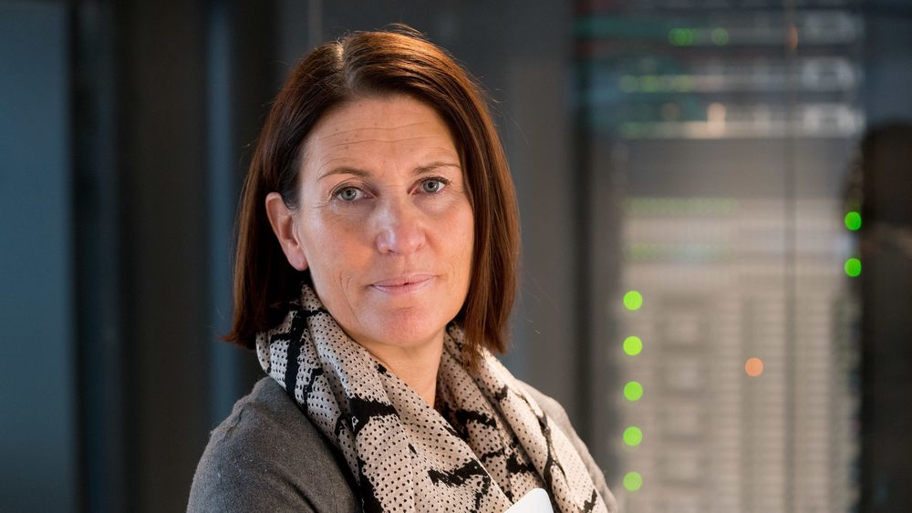 Trine Strømsnes i Cisco ser i spåkula for 2021.