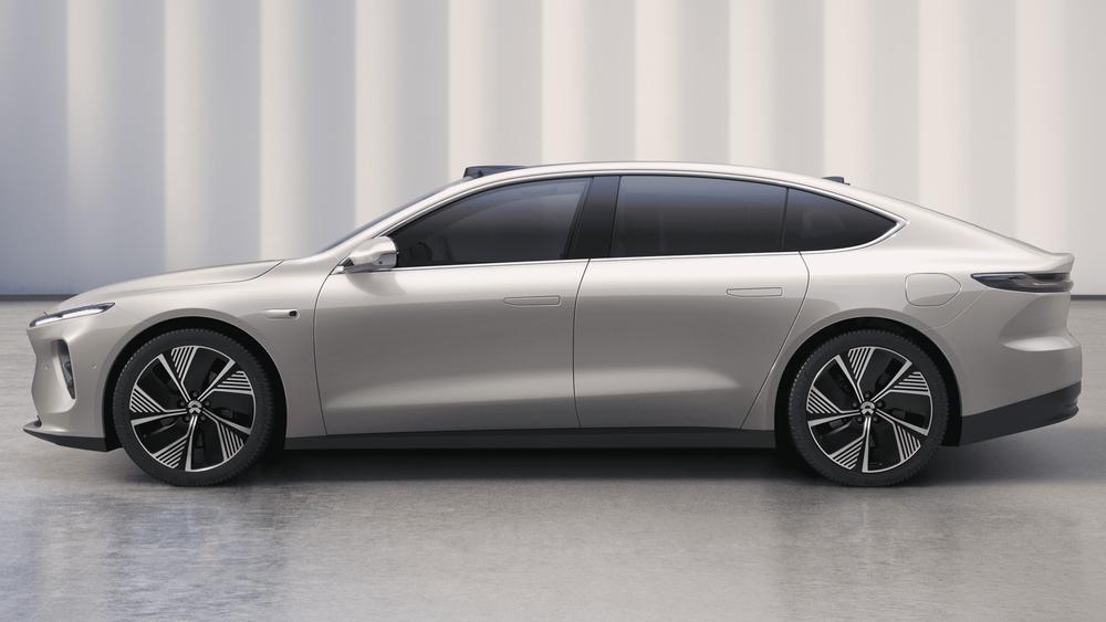 Nio ET7 er en kommende elektrisk sedan fra kinesiske Nio.