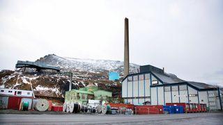 Faser ut kullkraft på Svalbard