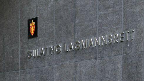 Inngangspartiet på Gulating Lagmannsrett.