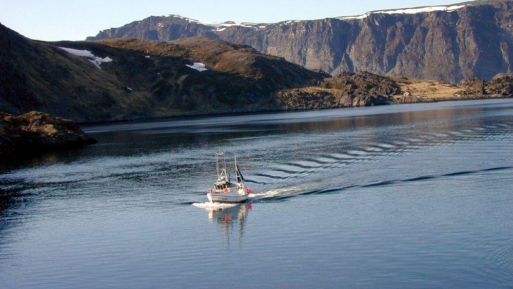 Selv de minste fiskebåtene må ha sporingssystemet VMS.
