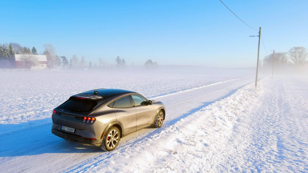 Ford Mustang Mach-e er en bil det knytter seg store forventninger til. Vi har testet den.