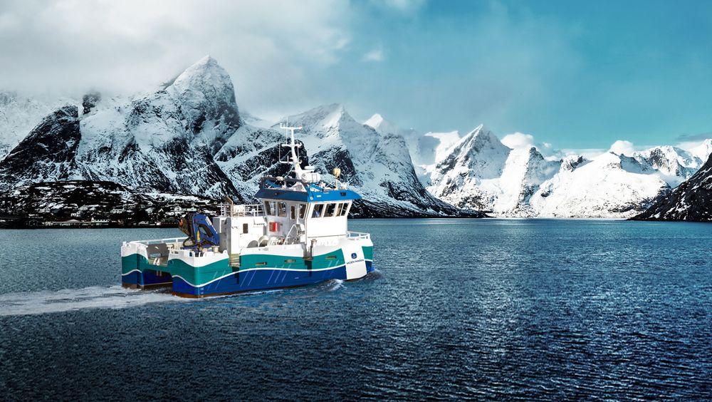 Moen Marin har utviklet den hybbride arbeidsbåten NABCAT 1375 ELECTRIC. Den danner grunnlag for den hydrogen-elektriske arbeidbåten.