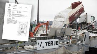 Krangler med staten om patentet på snøsmelter:Kan smelte og rense 1000 kubikkmeter snø i timen