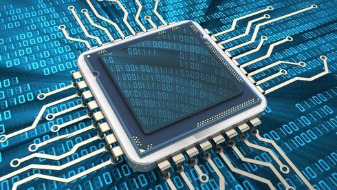 Illustrasjonsbilde av en prosessor.