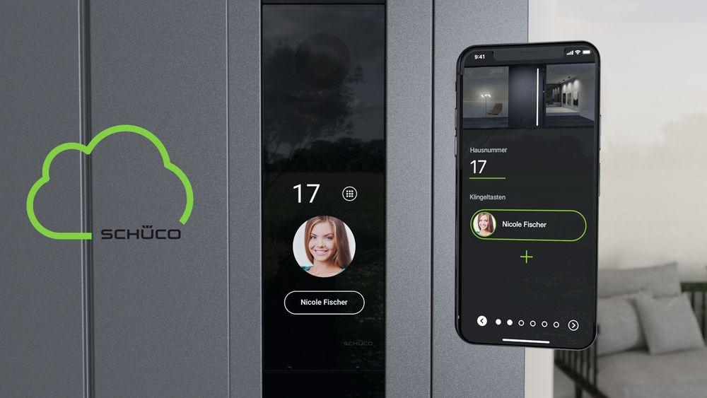 Modulløsninger som sikrer inngangspartiet på huset, med adgangskontroll og dørkommunikasjon, og som bygges flatt inn i dørprofilen, er det siste innen dørteknologi. Med app og «bluetooth» på smarttelefonen kjenner systemet deg igjen.