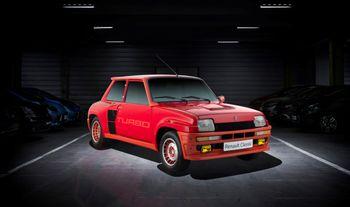 En 1981-modell Renault 5 Turbo.