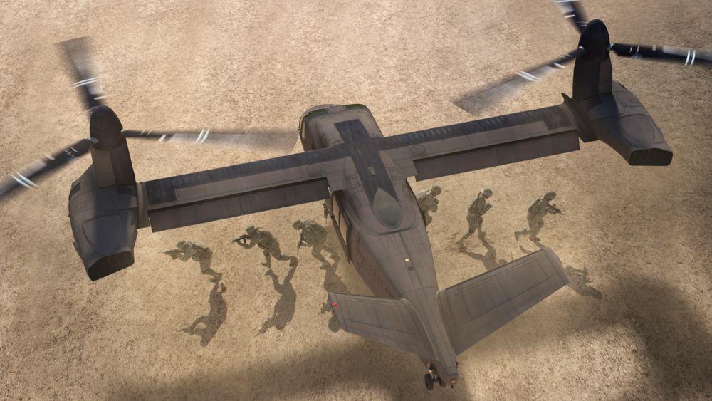 Bell V-280 Valor konkurrerer om å bli nytt helikopter for den amerikanske hæren, og tilbys også det norske forsvaret.