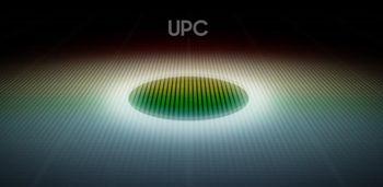 Samsung Displays illustrasjon av Under Panel Camera-teknologien.