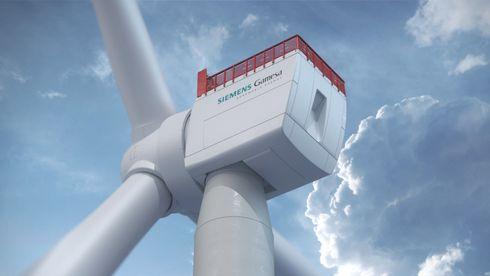 Havvindmølle fra Siemens Gamesa.