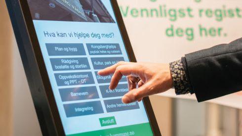 Digitale smittevernskiosker med håndsprit gir knallår for norsk selskap