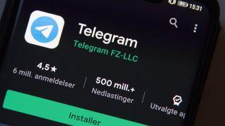 Telegram-appen har svært mange brukere globalt. Per januar 2021 er bare 2 prosent av brukerne lokalisert i USA.