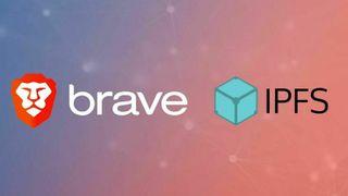 Brave- og IPFS-logoene.