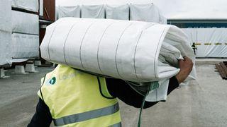 Looping Norske gjenbruk emballasje plast avfall bygg ombruk
