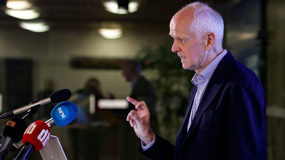 Smitteverndirektør Geir Bukholm i Folkehelseinstituttet.
