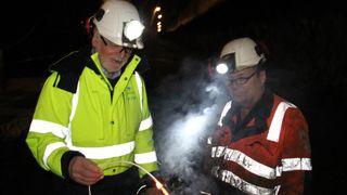 Gjennomslag i Haramsfjordtunnelen, men konsekvensene av brannen er fortsatt uavklart