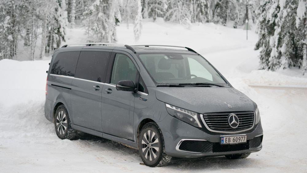 Mercedes-Benz EQV er en stor elektrisk flerbruksbil.