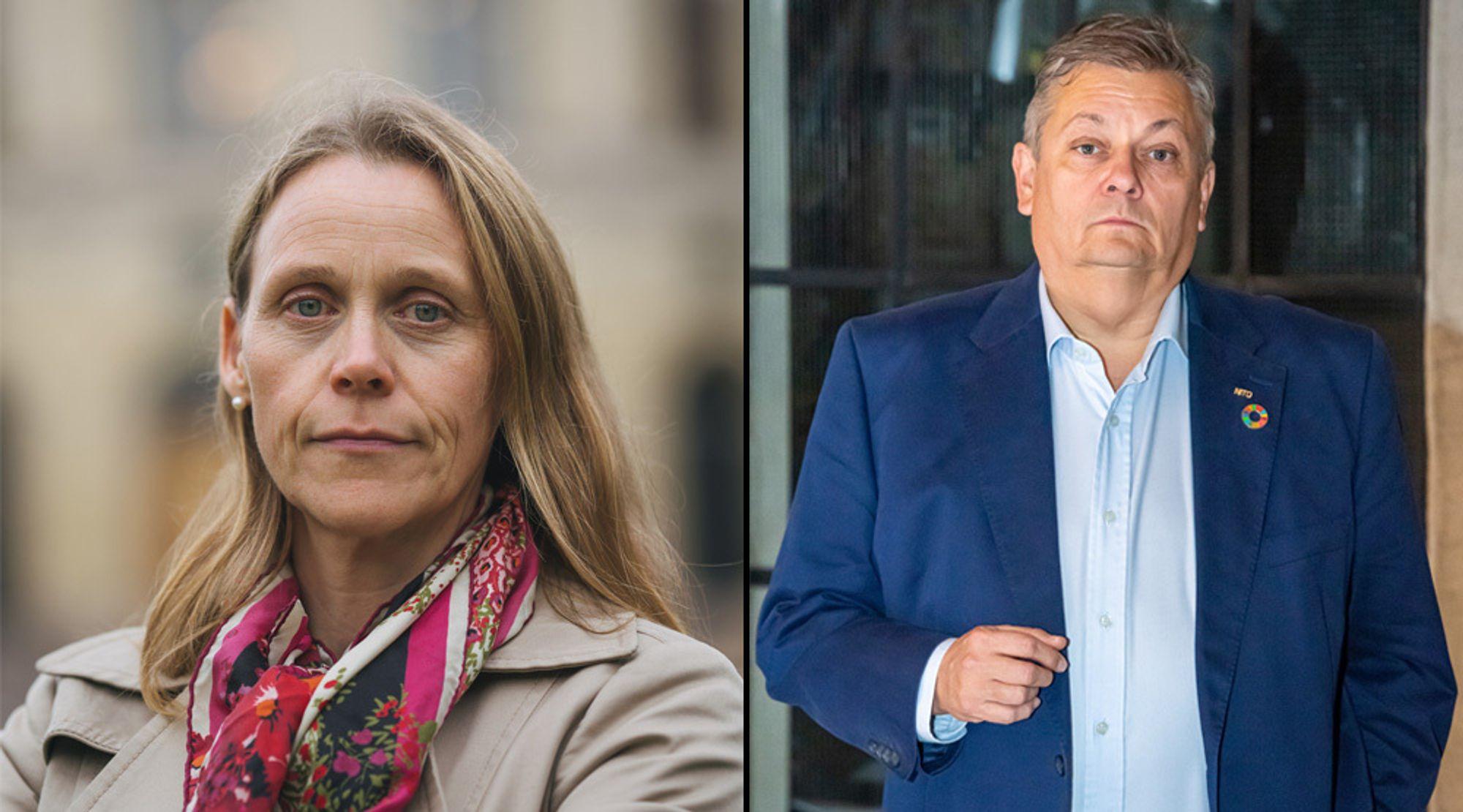 Lise Lyngsnes Randeberg og Trond Markussen, presidenter i henholdsvis Tekna og Nito, mener forslaget er på kant med loven om gratis utdanning.