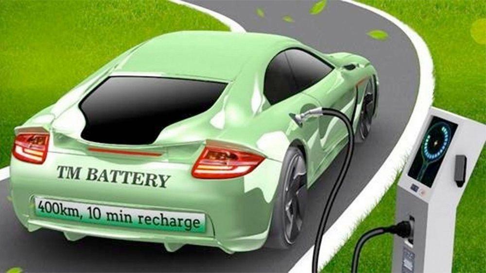 Batteriet ligger på 40 kWh og skal gi en rekkevidde på ca. 400 km. Dessuten skal det bare ta ti minutter å lade det fullt.