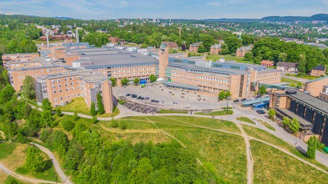Oslo 20200602. Rikshospitalet og Gaustad sykehus i Oslo.Foto: Stian Lysberg Solum / NTB