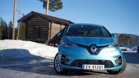 Renault sto bak Europas mest populære elbil i 2020.