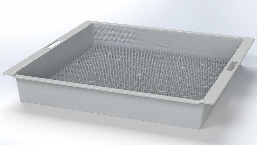 XHatch-produktet tilhører Sval Aqua og er en helstøpt klekkekasse basert på patentet Hatching Box.