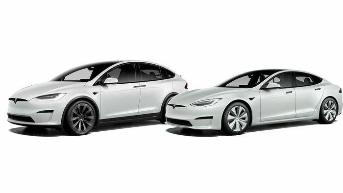 Nye Model X og Model S.