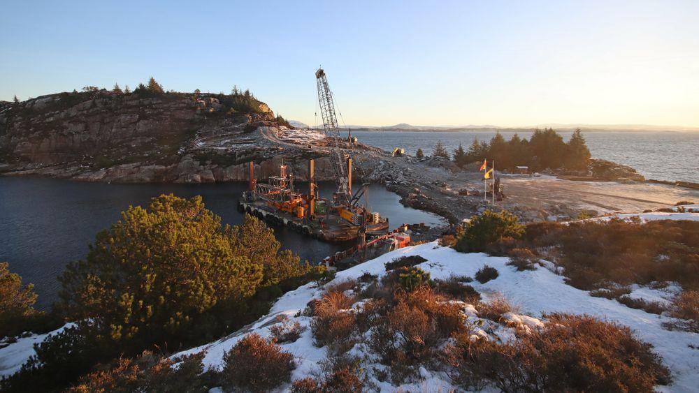 Opparbeiding av tomt for Northern Lights-prosjektet startet 4.januar. De fleste kontraktene er nå tildelt for å realisere dette banebrytende prosjektet.