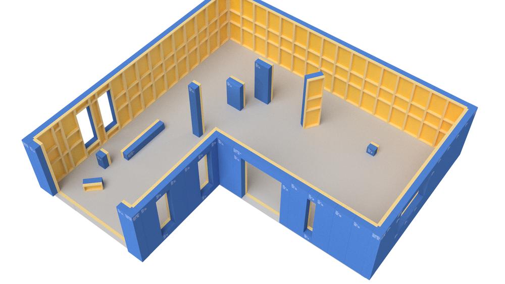 Etter sju års utvikling er Eon klare for å lansere elementene som skal gjøre det like lett å bygge hus som å bygge Lego.