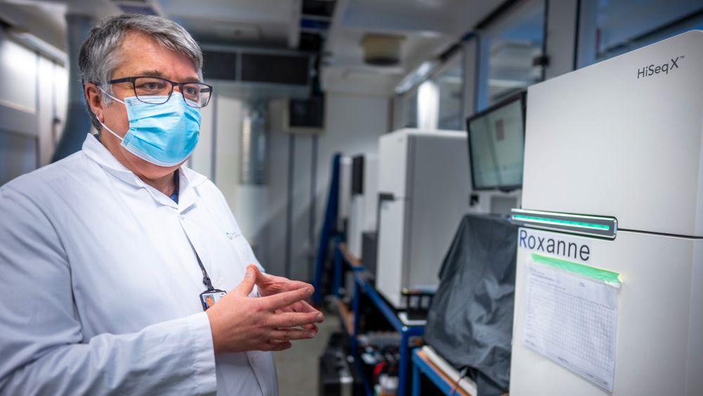 Dag Undlien er avdelingsleder for medisinsk genetikk ved Klinikk for laboratoriemedisin ved Oslo universitetssykehus (OUS). Han kjenner på tidspresset for å finne det muterte koronaviruset.