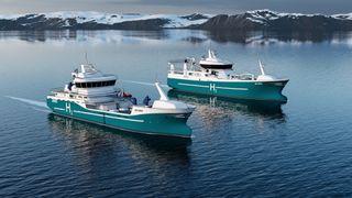 Målet er hydrogendrevet fiskefartøy om tre år