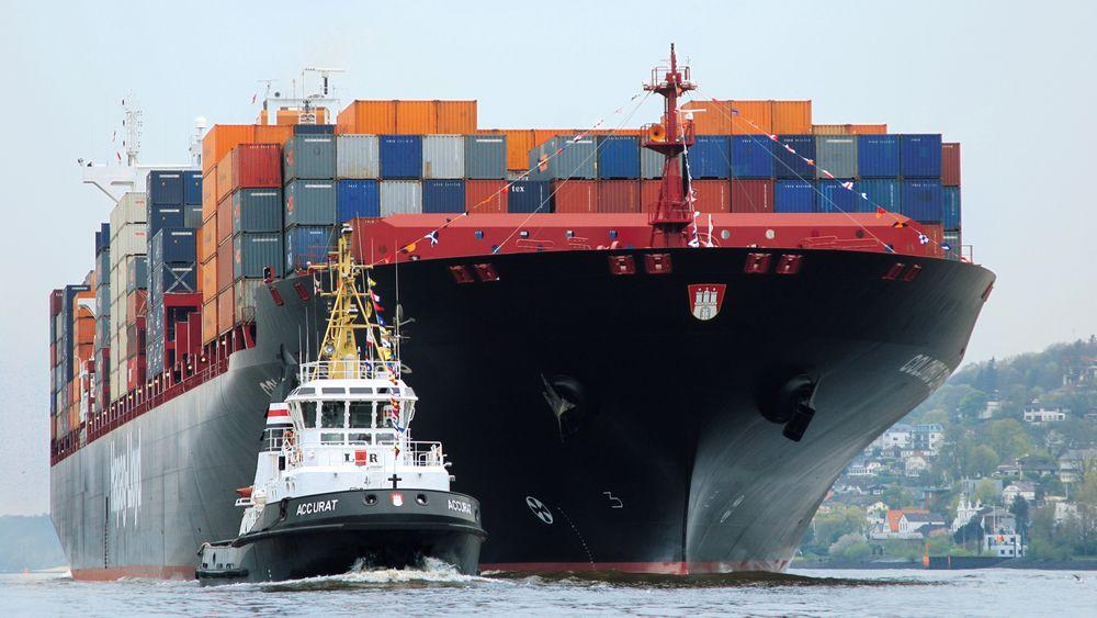 Rundt 30 prosent av alle nye containerskip under bygging er med LNG-motor. Taubåter er i økende grad også drevet med gass. Hapag Lloyd har bestilt seks nye 23.500 TEU-skip i Sør-Korea med DF-motorer.