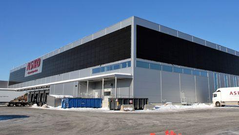 Fasade solceller solenergi fusen asko effekt 2020 vinter energiproduksjon strøm