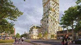 Norske arkitekter og ingeniører skal bygge Tysklands høyeste hybridbygg