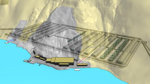 Vil pumpe inn åtte millioner liter sjøvann i minuttet til oppdrettsanlegg i nedlagt gruve