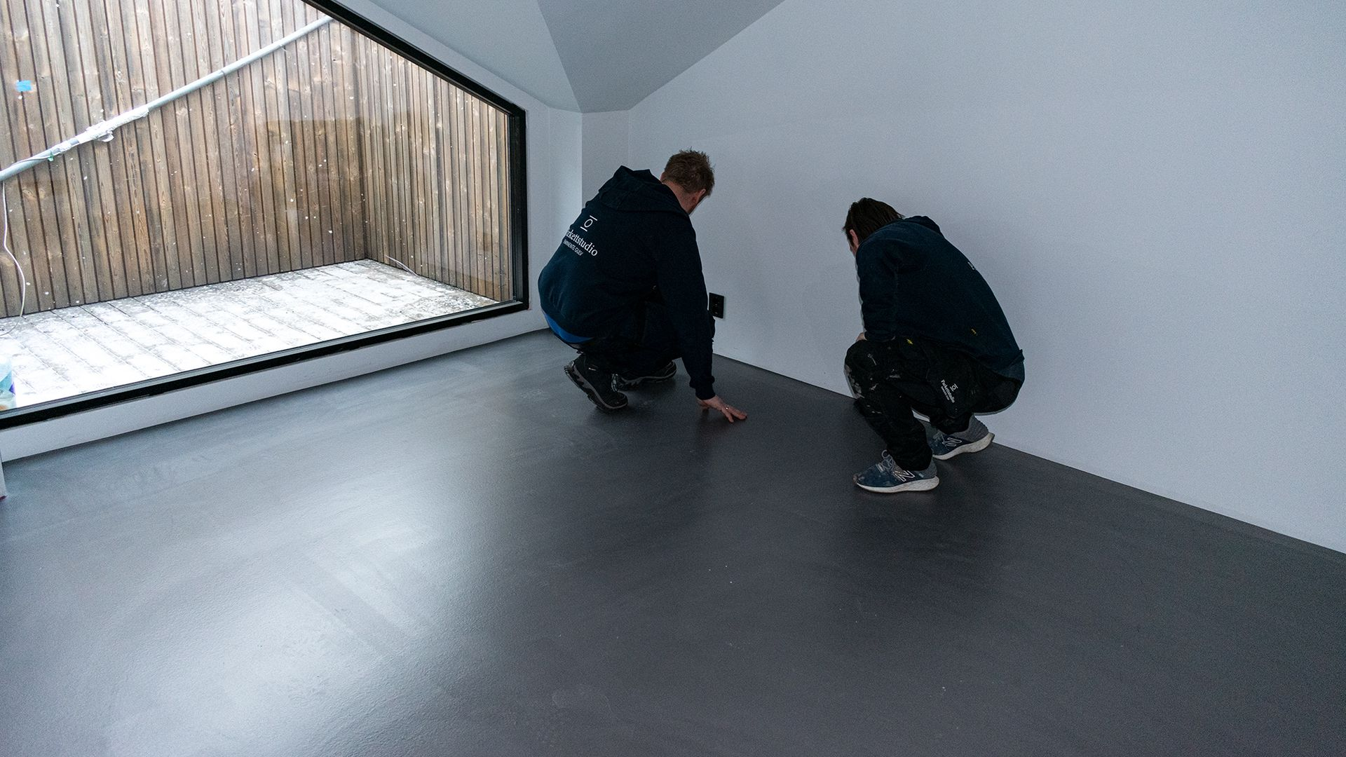 Parkettstudio AS gjennomførte oppføringen av gulvet, og forteller om en rask og problemfri prosess.