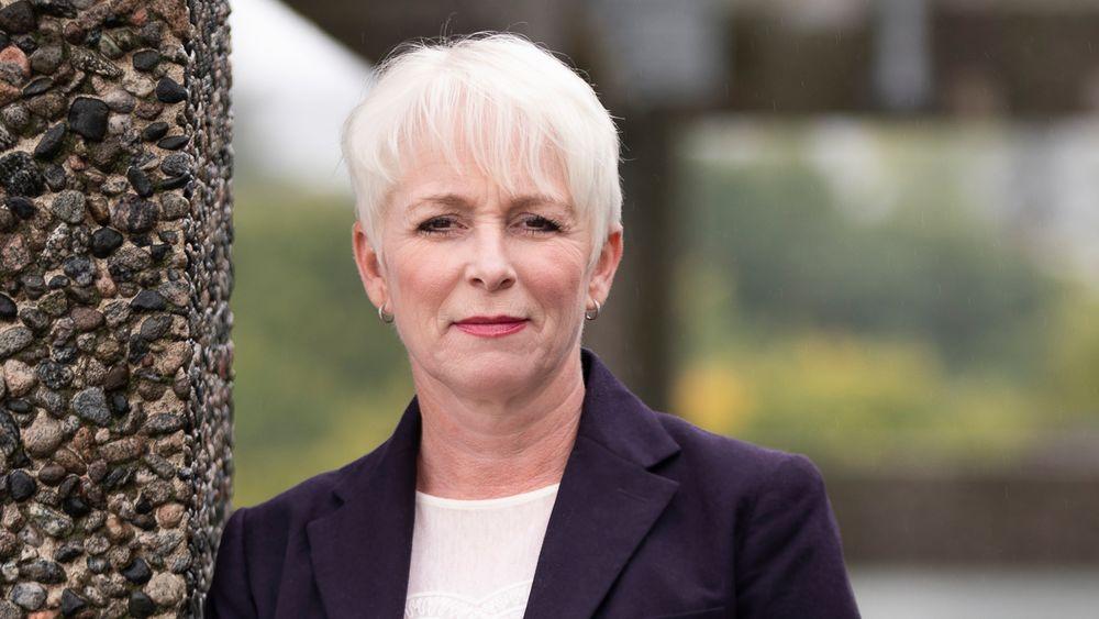 Heidi Finstad, administrerende direktør i Treindustrien