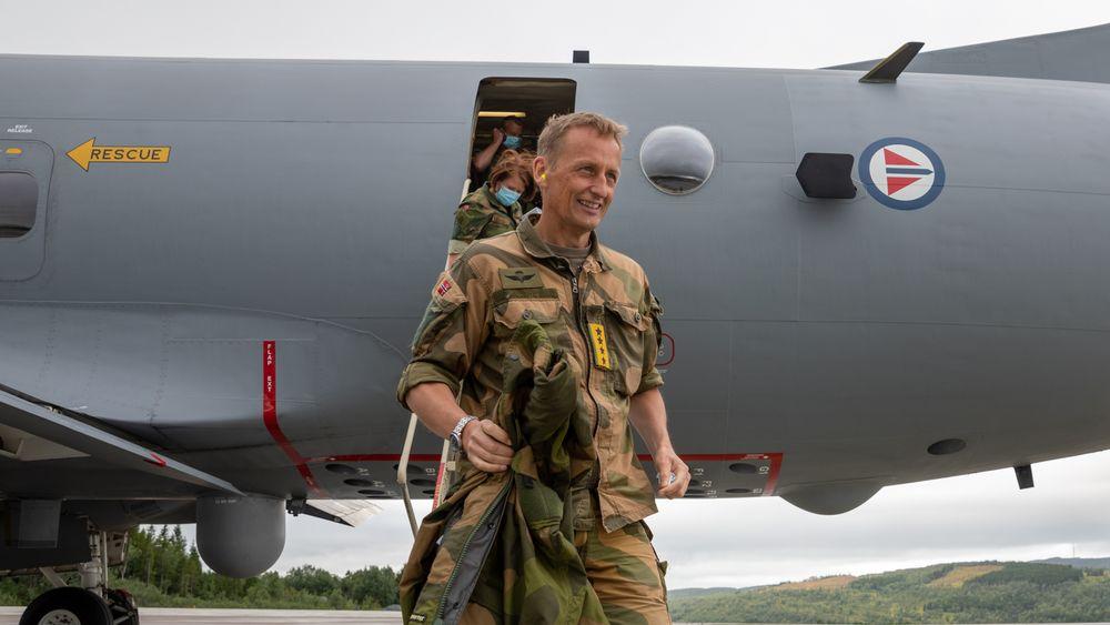 General Eirik Kristoffersen ankom Evenes i en P-3 Orion på sin første reise som forsvarssjef i august 2020. I august i år starter F-35A forberedelser til å overta QRA-beredskapen herfra.
