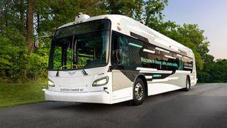 Dette skal være Nord-Amerikas første buss som kan kjøre helt på egenhånd