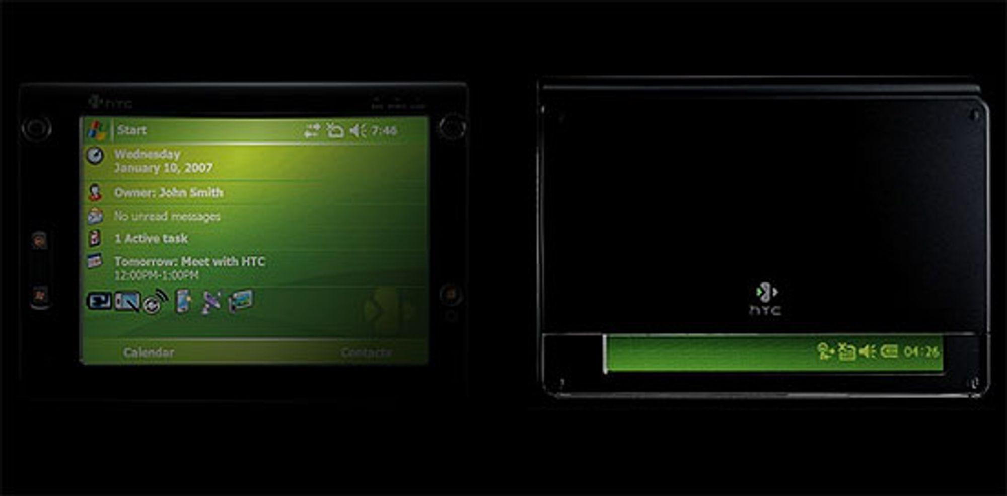 HTC leier skuespillere til å stjele den nye mobilen X7500.