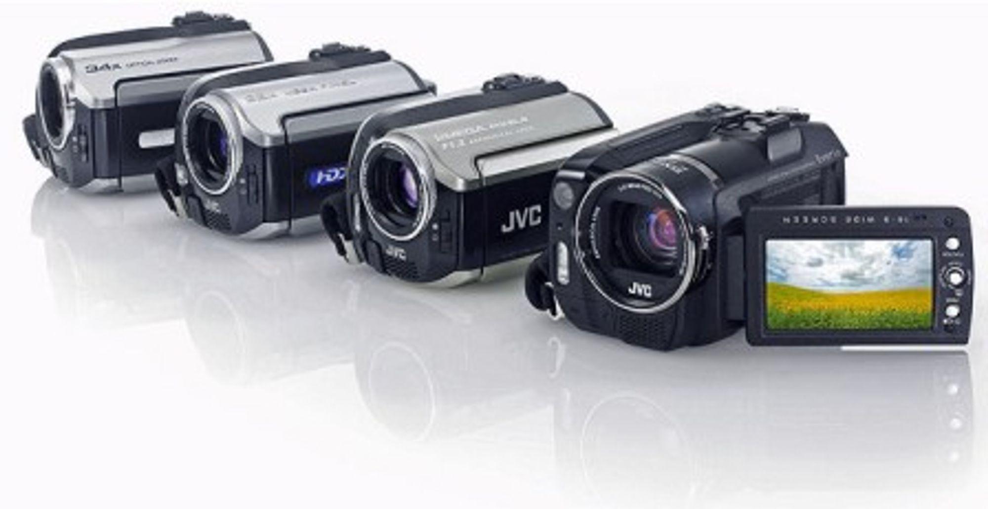 Noen av de nye modellene fra JVC