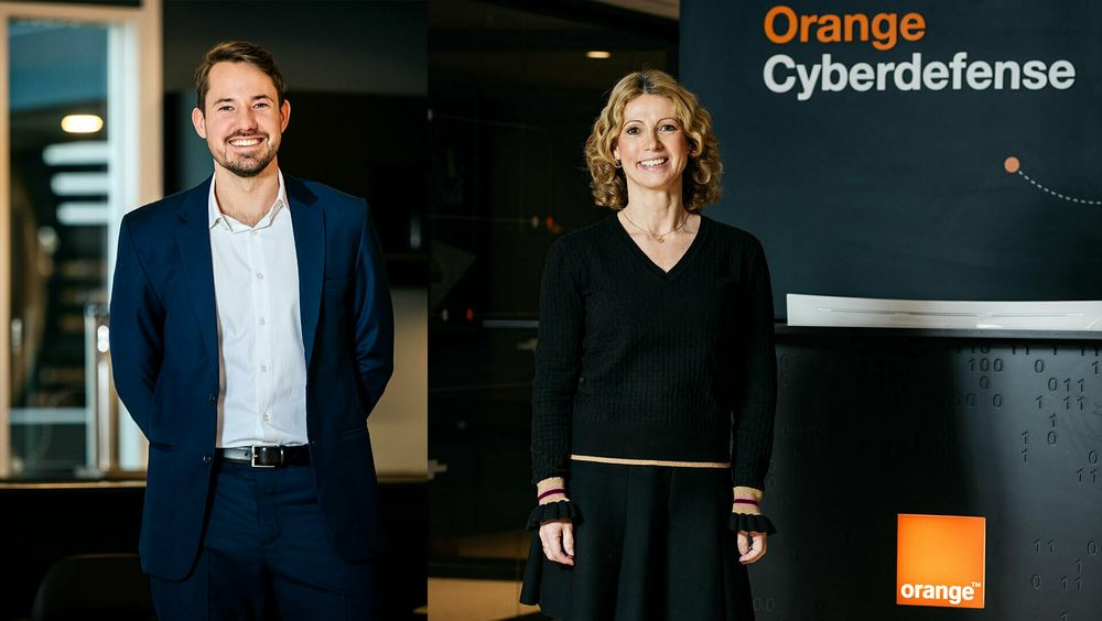 Thomas Baasnes og Siri Hoff Haug er ansatt i Orange Cyberdefense Norway.
