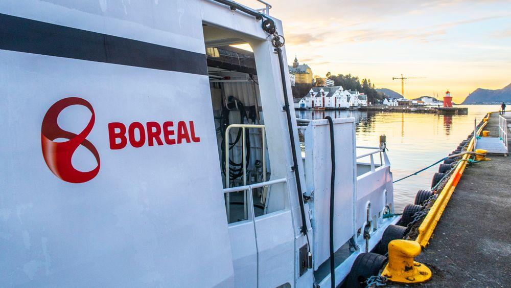 Boreal valgte ikke å rapportere inn en sprekk i skroget på en hurtigbåt i Nordland i 2019.
