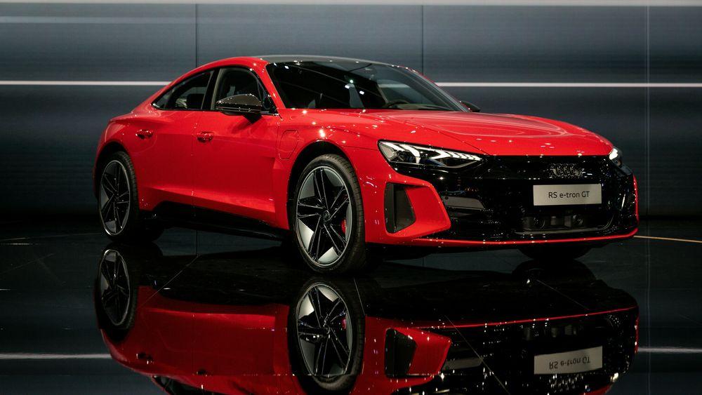 Audi lanserte E-Tron GT tirsdag kveld.
