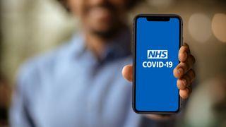 Kontaktsporingsappen som NHS tilbyr i England og Wales.