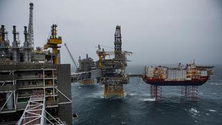 Titusenvis av oljejobber ventes å forsvinne i årene som kommer. Bildet viser Johan Sverdrup-feltet.