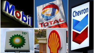 Enorme tap for verdens oljegiganter